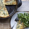 Caramelized Onion, Swiss Chard & Gruyere Frittata (and why you should eat eggs for dinner)