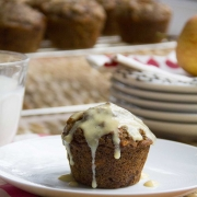 When life gives you early mornings, make Morning Glory Muffins
