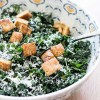 (To-Die-For) Greek Yogurt Kale Caesar Salad