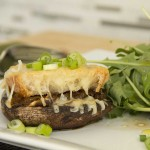 French Onion Portobello Mushroom