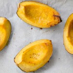 The Sideshow: Maple Roasted Acorn Squash Wedges