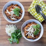 Big Batch Pulled Chicken Chili