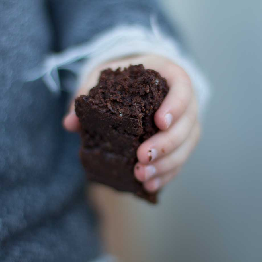 Dark Chocolate Brownies, free of grains, refined sugar and dairy | www.kiwiandbean.com