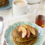 Pumpkin Pie Buckwheat Pancakes