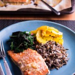 Quick Maple-Dijon Salmon