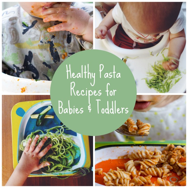 Healthy Pasta Recipes for Babies & Toddlers | www.kiwiandbean.com