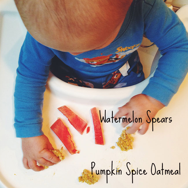 Baby-Led Weaning Breakfast Ideas