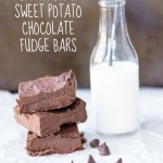 Black Bean Sweet Potato Chocolate Fudge Bars