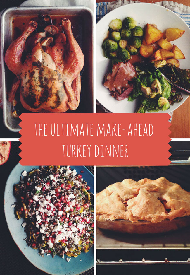 The Ultimate Make-Ahead Turkey Dinner | www.kiwiandbean.com