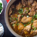 One Pot Chicken Adobo with Coconut Rice