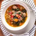 Dinner Soup (aka Sausage, Kale and White Bean Soup)