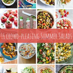 16 Crowd-Pleasing Summer Salads | www.kiwiandbean.com