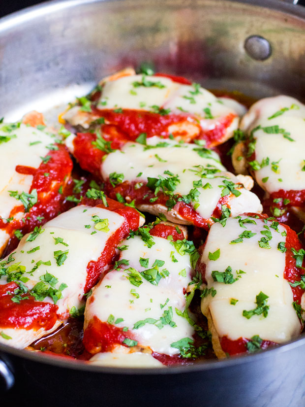 Cheater Chicken Parm | www.kiwiandbean.com