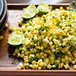 End of Summer Raw Corn Salad
