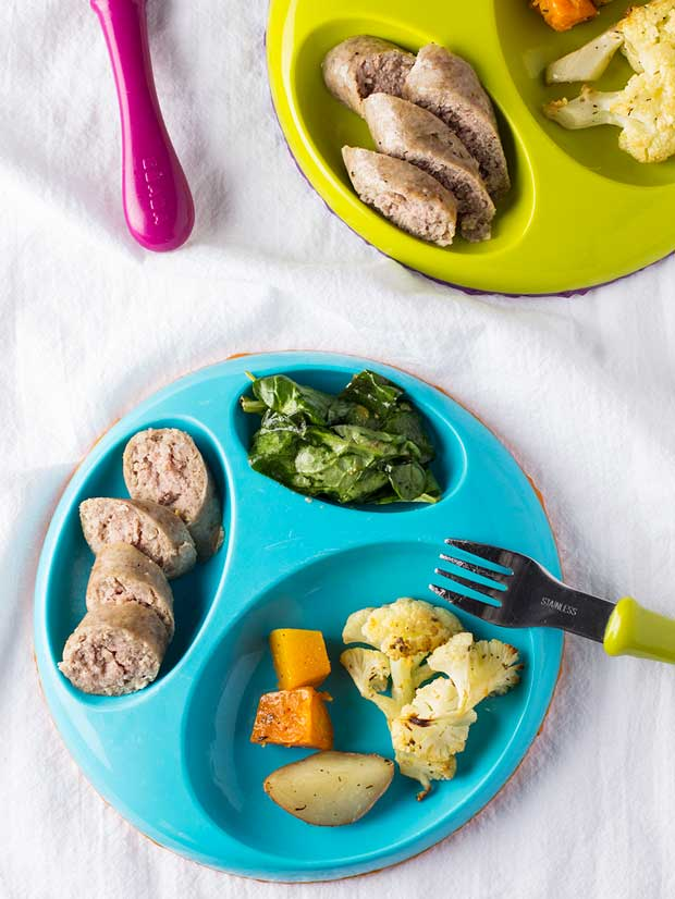 Turkey Sausage and Root Vegetable Sheet-Pan Dinner
